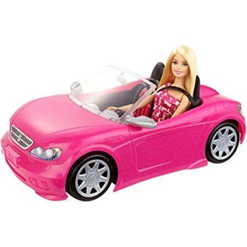 Barbie DJR55 - Glam Cabrio und Puppe