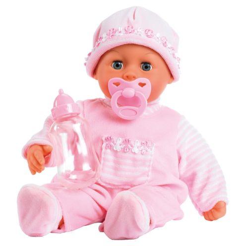 Bayer Design 93824AA Babypuppe First Words mit Schlafaugen