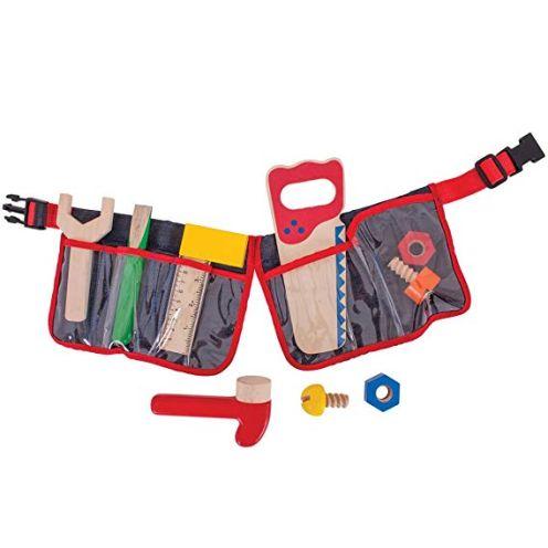 Bigjigs Toys Roter Werkzeuggürtel