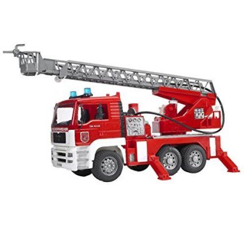 BRUDER 02771 - MAN Feuerwehr mit Drehleiter