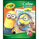 Crayola 04-5857-E-000 Color and Stickerbook Minions