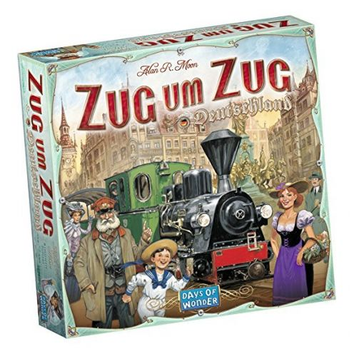 Days of Wonder 851761 - Zug um Zug Deutschland