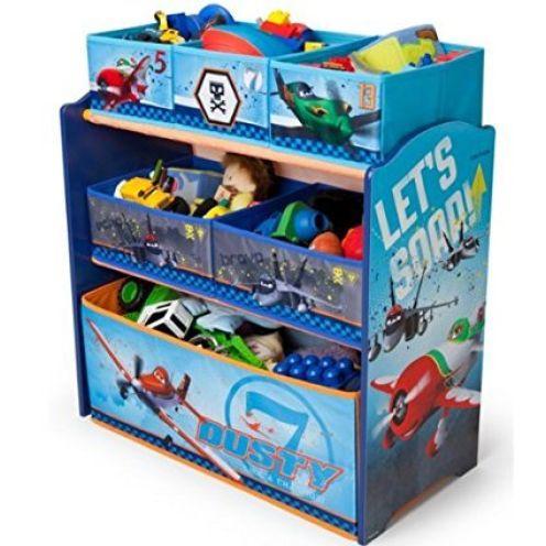 Delta Children DisneyPlanes Multi Toy Organizer
