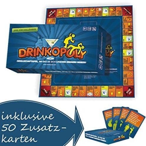 Drinkopoly Das verrückteste Spiel aller Zeiten