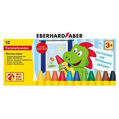 Eberhard Faber 524112 Mini Kids Club Wachsmalkreide