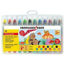 Eberhard Faber 529112 Mini Kids Club 12 Gelmalstifte