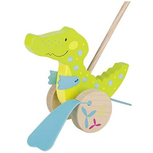 Goki 54911 - Schiebetier Krokodil