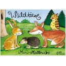 Grätz Verlag Wald Tiere Mini Malbuch