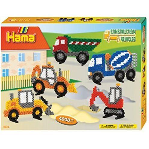 Hama 3143 Geschenkpackung Baufahrzeuge