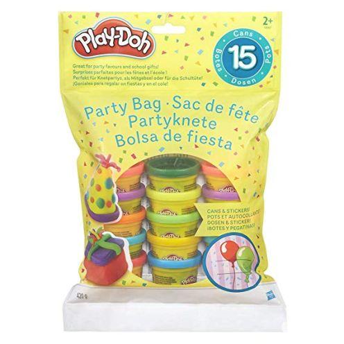 Hasbro Play-Doh 18367EU4 - Partyknete mit Stickern