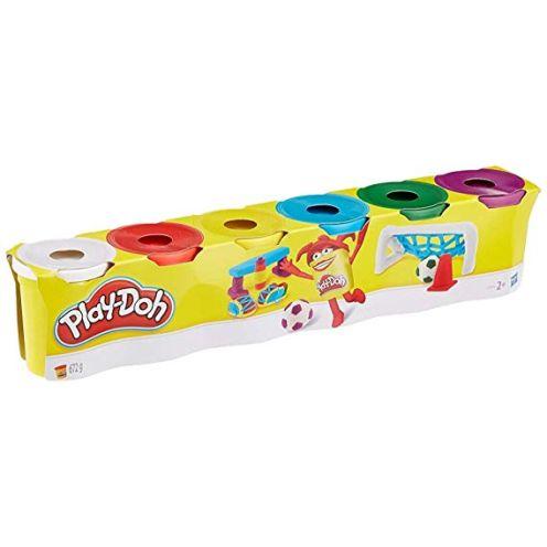 Hasbro Play-Doh C3898EU4 6er Pack Grundfarben