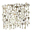 KING DO WAY 69 Retro Bronze Schlüssel Anhänger
