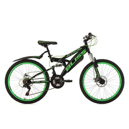 KS Cycling Mountainbike Fully 24''