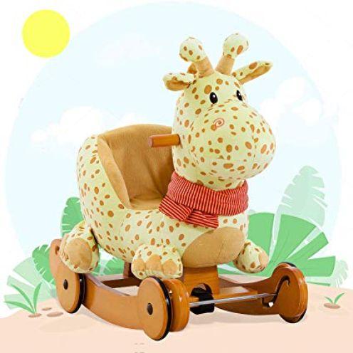 Labebe Schaukeltier Giraffe