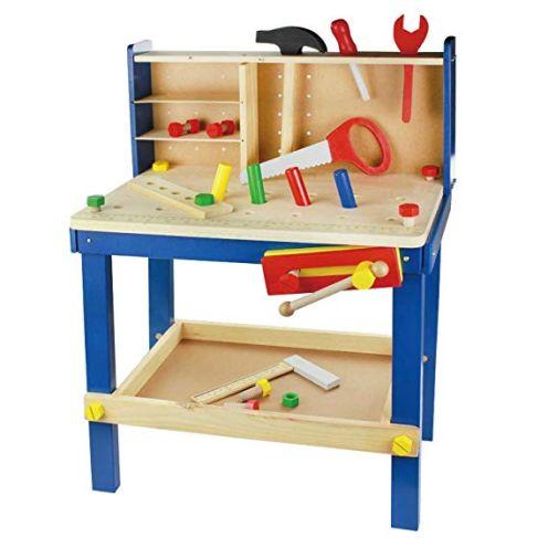 Leo & Emma Spielwerkbank aus Holz