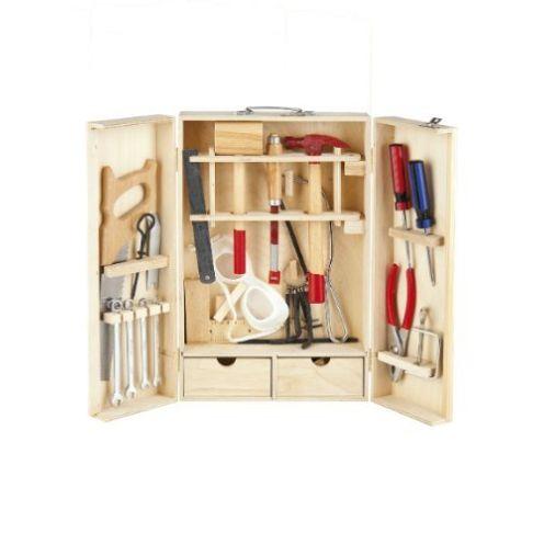 Leomark Holz Werkzeugkasten