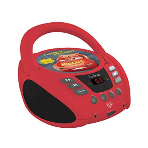 Lexibook RCD108DC Radio CD Player Disney Cars