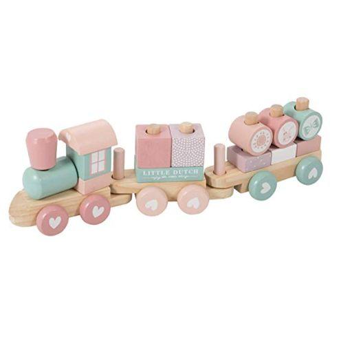Little Dutch 0422015 Holz-Eisenbahn