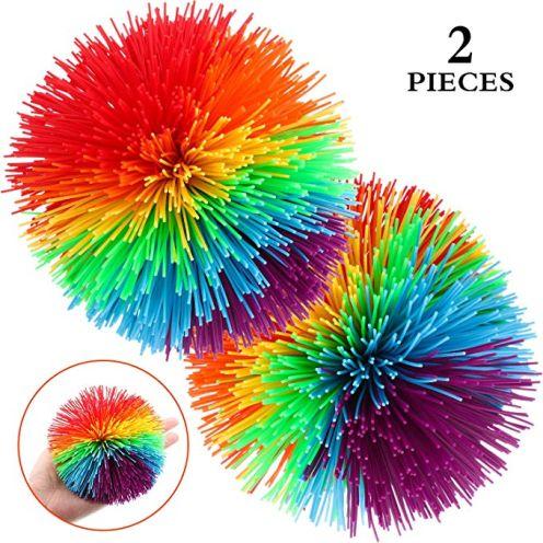 2 Stück Groß AFFE Stringy Balls