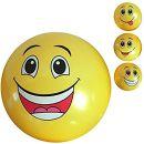 No Name 2 Stück PVC Ball Smiley 20 cm