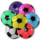 No Name 4 x Kunststoffball Fussball Ball 20 cm