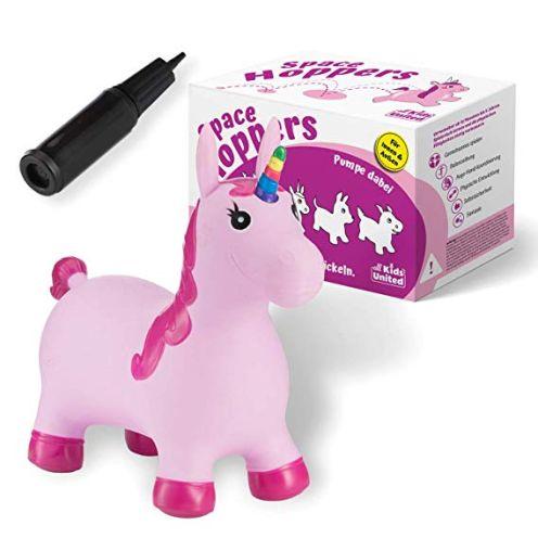all kids united Hüpftier Sprungpferd Einhorn