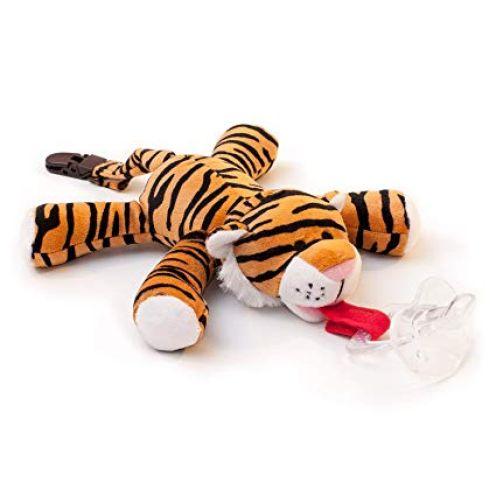 BabyHuggle Tiger-Schmusetier Schnuller