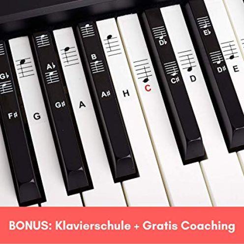Belfort®️ Klavier + Keyboard Noten-Aufkleber