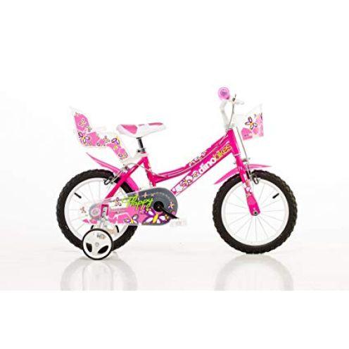 Dino Bikes Mädchen Kinderfahrrad pink