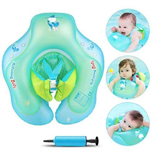 Infreecs Baby Schwimmring mit Pumpe