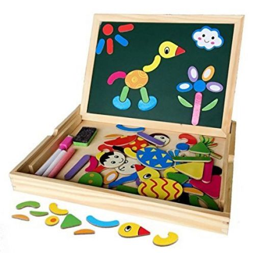 Magnetisches Spielzeug Magnet Doodle aus Holz