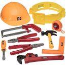 No Name Prextex Werkzeuggürtelset für kleine Handwerker