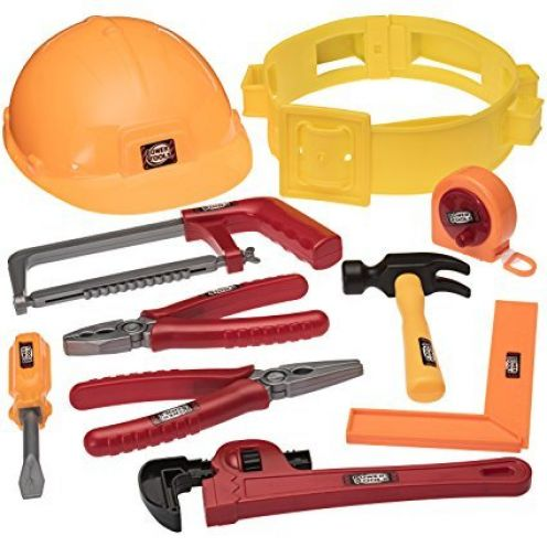 Prextex Werkzeuggürtelset für kleine Handwerker