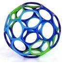 Oball 10 cm blau/grün/lila