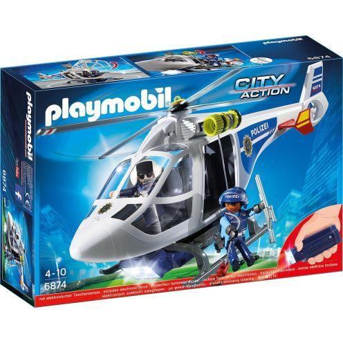 PLAYMOBIL 6874 Polizei-Helikopter
