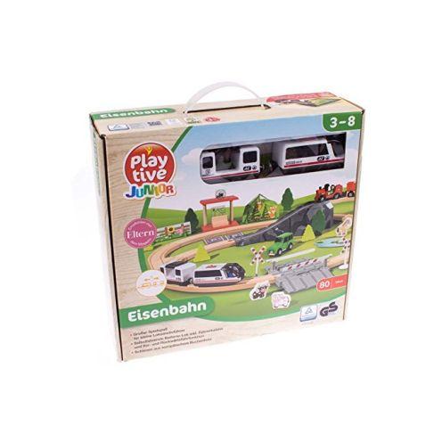 PLAYTIVE JUNIOR Holz Eisenbahn | Spielzeug Test 2020