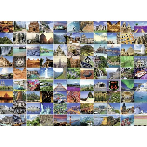 Ravensburger 19371 99 Beautiful Places on Earth
