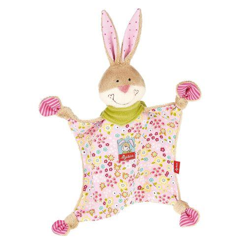 Sigikid Mädchen Schnuffeltuch Hase Bungee Bunny in Rosa