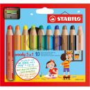STABILO woody 3 in 1 Buntstift