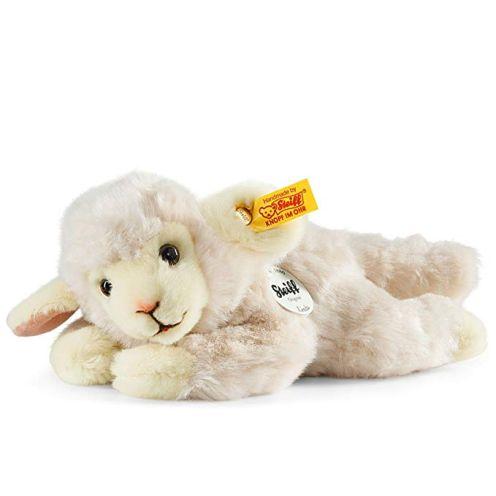 Steiff 280030 Linda 22 wollweiss liegend Lamm