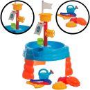 Stimo24 Sand- & Wasser Spieltisch Set 17 Teile