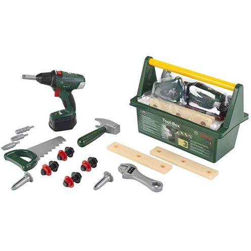 Theo Klein 8520 - Bosch Tool Box mit Akkuschrauber