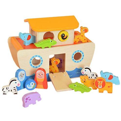 Tooky Toy Arche Noah Aus Holz