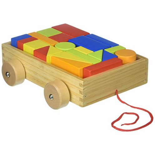 Tooky Toy tkb369 Holz Mini Block und Rolle