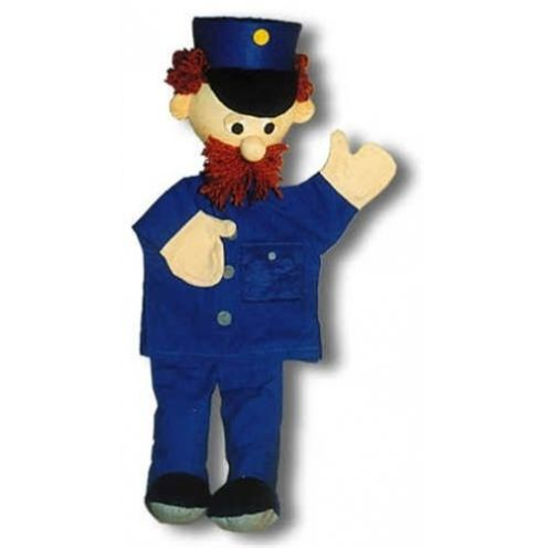 Trullala 25009 - Polizist blau, Handpuppe