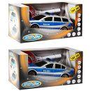 Vedes Großhandel GmbH Speed Zone Polizeiauto mit Polizeikelle