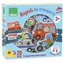 Vilac 8028 – Magnete Transport aus Holz