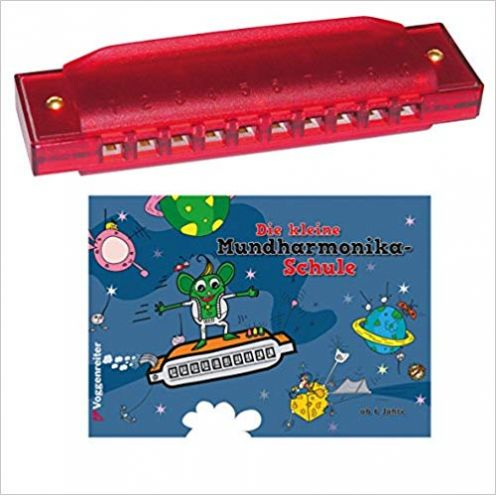 Voggenreiter 556 - Das bunte Mundharmonika-Set