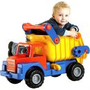 Wader Quality Toys 03555 - Truck No 1.Großer LKW-Kipper