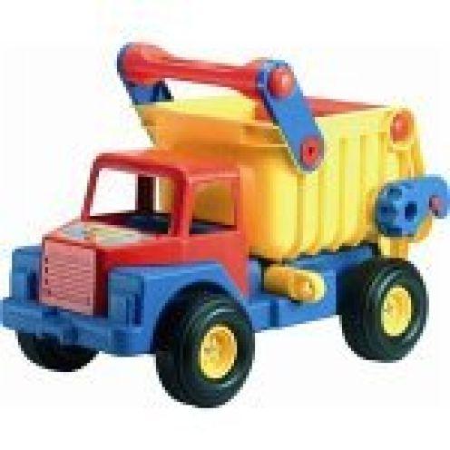 Wader Quality Toys 03556 - Truck No. 1 mit Gummireifen